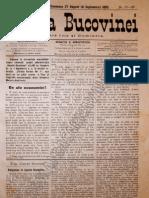 Gazeta Bucovinei #67-68, Duminica 27 August (8 Sept Em Brie) 1895
