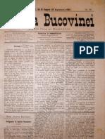 Gazeta Bucovinei #69, Joi 31 August (12 Sept Em Brie) 1895
