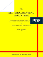Deuterocanonical Apocrypha With Appendix