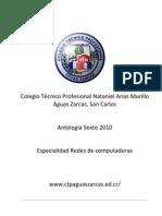 Antología sexto Redes 2010