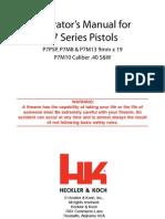 HK P7 Ops Manual