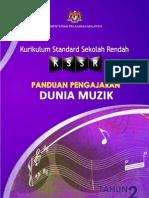 Buku Panduan Pengajaran Dunia Muzik Tahun 2