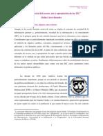 Dimensión social del acceso, uso y apropiación de las TIC