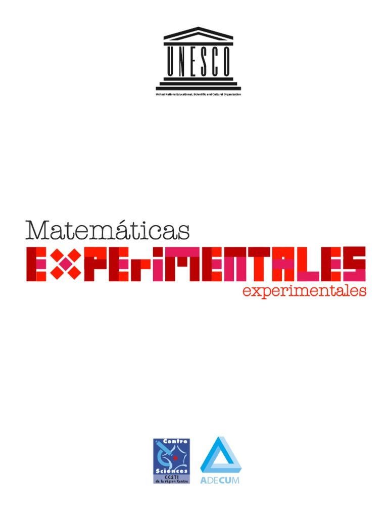Resultado de imagen de MATEMATICAS EXPERIMENTALES UNESCO