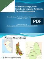 Presentación del hidrogeólogo Robert E. Morán (Informe Conga- Gob. Regional /Grufides)
