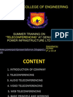 teleconfrencing