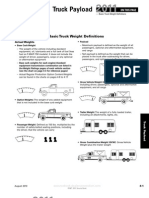 Basic Truck Weight Definitions