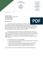 Health Exchange Letter to Skelos 3 8 12 Final 1