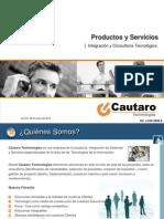 Productos y Servicios Pr