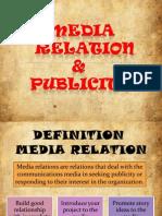 Media Publicity