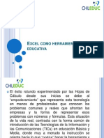 4. Excel Como Herramienta Educativa