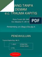 Kejang e.c Trauma Kapitis