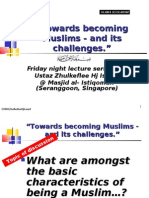 """Being Muslims & its challenges"" 3 [Islam vs Secularism]"