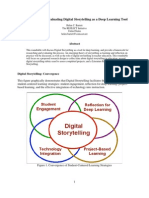 Digital Storytelling Research Design Deep Learning Tool