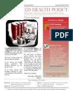 TMA of TTUHSC - March Newsletter