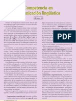 Competencia en comunicación linguistica