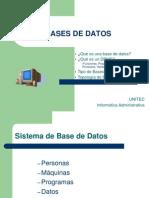 Bases de Datos(3)