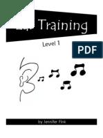 Ear Training Level 1 Student Workbook