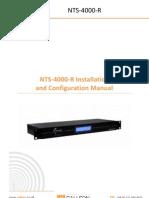 NTS-4000-R Manual