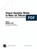 Tarr Chemical Degradation