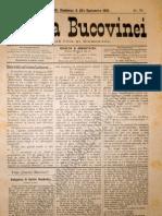 Gazeta Bucovinei #70, Duminica 3(15) Septembrie 1895