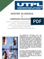 Pregunta Cuatro de Tecnologia Educativa Para La Gestion