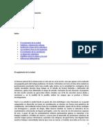Historia natural de la urbanización.