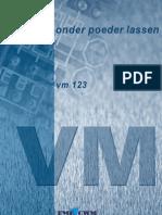 VM123 Onder Poeder Lassen