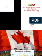 An Economic Partnership in the Marketing the India-Canada Story