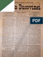 Gazeta Bucovinei #76, Duminica 24 Septembrie (6 Octombrie) 1895