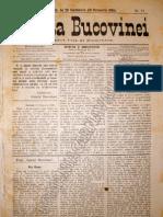 Gazeta Bucovinei #77, Duminica 28 Septembrie (10 octombrie) 1895