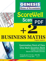 Business Maths - English Medium - GENESIS Scorewell Scanner
