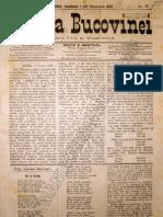 Gazeta Bucovinei #78, Duminica 1 (13) Octombrie 1895