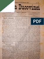 Gazeta Bucovinei #79, Joi 5 (17) Octombrie 1895