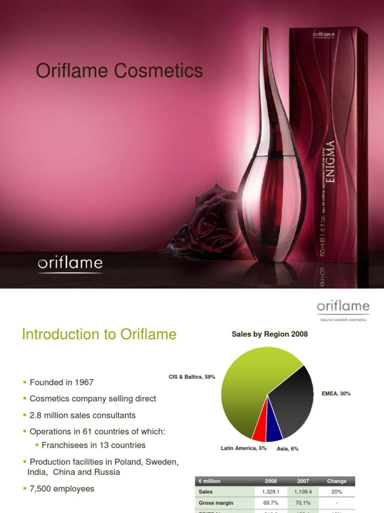 Oriflame Cosmetics Ppt 2009   Euro   Brand