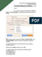 Archivo Del Blog Personalizado