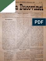 Gazeta Bucovinei #86, Duminica 29 Octombrie (10 Noiembrie 1895