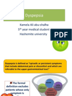 Dyspepsia Kamela