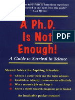 Phd Not Enough