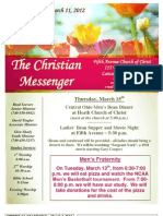 March 11 Newsletter