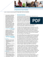Inside Cisco IT - Integrated Workforce Experience Case Study