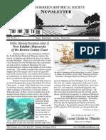 Spring 2012 Newsletter - North Berrien Historical Society