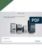 Contactores Siemens Sirius