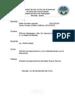 Estudio socieconómico Nueva Francia