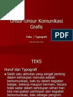 Materi #4 Teks & Typografi