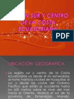 Region Sur y Centro de La Costa Ecuatoriana