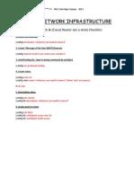 Switch Router Stick Checklist