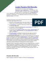 Derecho Admon Tema 2 Fuentes Del Derecho