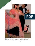 El Vals Peruano la Identidad Urbana Costena de los peruanos