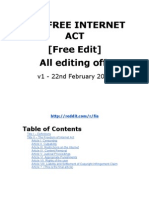 The Free Internet Act